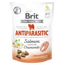 Funkčné maškrty Brit Care Dog Antiparasit Salmon 150 g