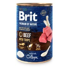 Konzerva Brit Premium by Nature Beef & Tripes 400 g