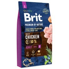 Brit Premium by Nature Adult S 8 kg
