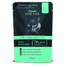 Kapsička Fitmin Cat For Life Sterilised Salmon 85 g