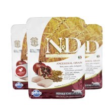 N&D Ancestral Grain Cat Neutered Chicken & Pomegranate 1,5 kg
