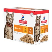 Hill's Feline Adult Chicken & Turkey kapsičky 12x 85 g