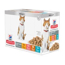 Hill's Feline Young Adult Sterilised Chicken & Salmon & Trout & Turkey kapsičky 12x 85 g