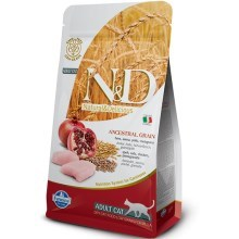 N&D Ancestral Grain Cat Adult Chicken & Pomegranate 5 kg
