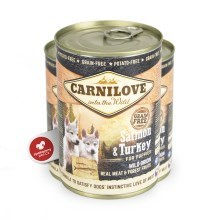 Carnilove Wild Meat Salmon & Turkey for Puppies 400 g