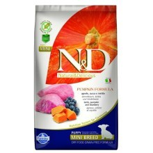 N&D GF Pumpkin Dog Puppy Mini Lamb & Blueberry 800 g