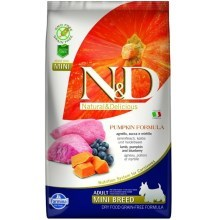 N&D GF Pumpkin Dog Adult Mini Lamb & Blueberry 800 g