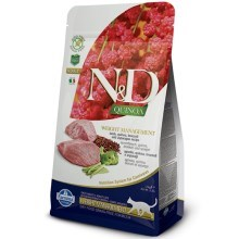 N&D GF Quinoa Cat Weight Mngmnt Lamb & Broccoli 1,5 kg
