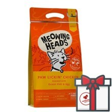 Meowing Heads Paw Lickin' Chicken 4 kg