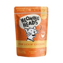 Meowing Heads kapsička Paw Lickin' Chicken 100 g