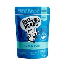 Meowing Heads kapsička Surf & Turf 100 g