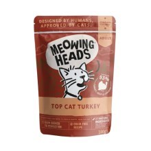 Meowing Heads kapsička Top Cat Turkey 100 g