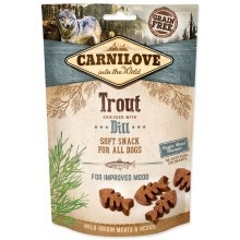 Carnilove Dog Semi Moist Snack Trout with Dill 200 g