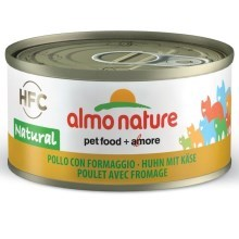 Almo Nature HFC Cat kura a syr 70 g