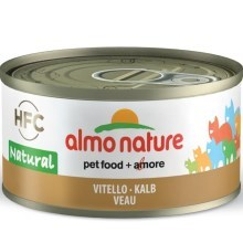 Almo Nature HFC Cat teľacie 70 g