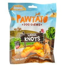 Benevo maškrty Pawtato Knots Large 180 g