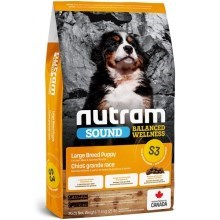 Nutram S3 Sound Large Breed Puppy 11,4 kg