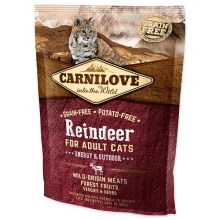 Carnilove Cat Reindeer for Adult Energy & Outdoor 400 g