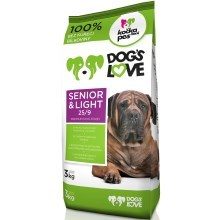 Dog's Love Senior & Light 3 kg