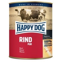 Happy Dog Premium konzerva Rind Pur 800 g