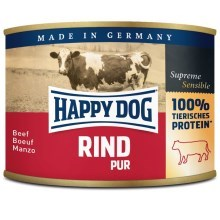 Happy Dog Premium konzerva Rind Pur 200 g