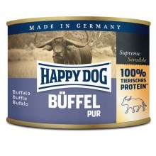 Happy Dog Premium konzerva Büffel Pur 200 g