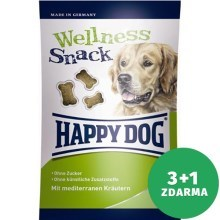 Výhodný set 3+1 Happy Dog Supreme Wellness snack s bylinkami 100 g