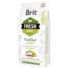 Brit Fresh Duck & Millet Adult Run & Work 2,5 kg