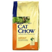 Purina Cat Chow Adult kura, morka 1,5 kg