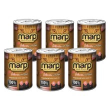 Marp Pure Salmon Cat 6x 400 g