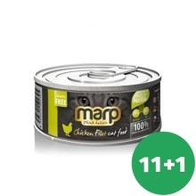 Marp Cat konzerva Chicken Breast Filet 12x 70g (11+1 ZADARMO)