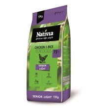Nativia Senior & Light 15 kg