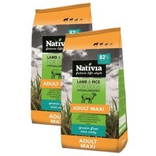 Nativia Adult Maxi Lamb & Rice SET 2x 15 kg
