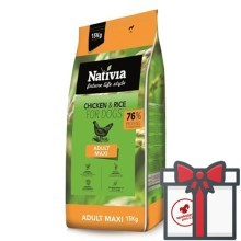 Nativia Adult Maxi Chicken & Rice15 kg
