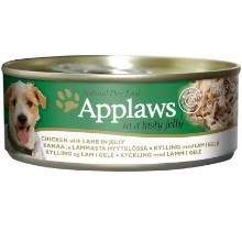 Applaws konzerva Dog Jelly Chicken with Lamb 156 g