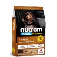 Nutram T27 Total Grain Free Small Breed Chicken, Turkey Dog 5,4 kg