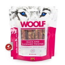 Woolf Duck & Rawhide Twister 100 g