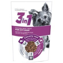 3in1 pochúťka Dog City kuracie 100 g