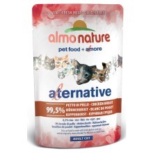Almo Nature Cat Alternative Wet kuracie prsia 55 g