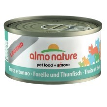 Almo Nature Legend Pstruh a tuniak 70 g