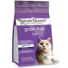 Arden Grange GF Cat Adult Light Fresh Chicken & Potato 2 kg