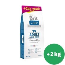 Brit Care Dog Adult Large Breed Lamb & Rice 12+2 kg ZADARMO