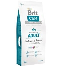Brit Care Dog Grain-free Adult Salmon & Potato 12 kg