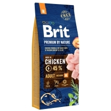 2x Brit Premium by Nature Adult M 15 kg
