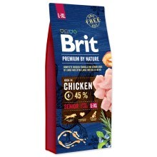 Brit Premium by Nature Senior L + XL 15 kg