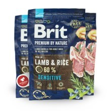 Brit Premium by Nature Sensitive Lamb 3 kg