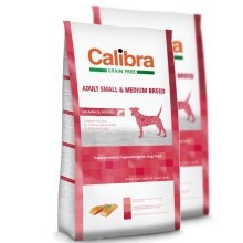 Calibra Dog GF Adult Medium & Small Salmon SET 2x 12 kg