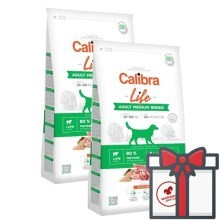 Calibra Dog Life Adult Medium Breed Lamb SET 2x 12 kg