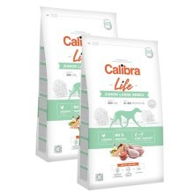 Calibra Dog Life Junior Large Breed Chicken SET 2x 12 kg