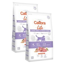 Calibra Dog Life Junior Small & Medium Breed Lamb SET 2x 12 kg